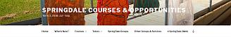 Courses & Opportunities Website